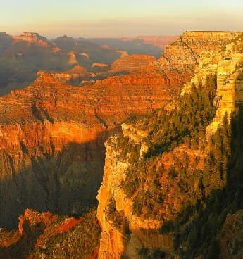 The Grand Canyon in Arizona