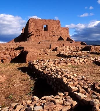 Pecos Historical National Park in New Mexico